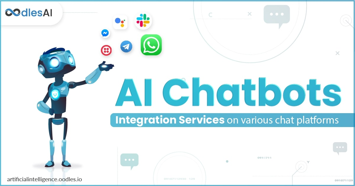 AI Chatbot Integration Services on Various Social Media platforms