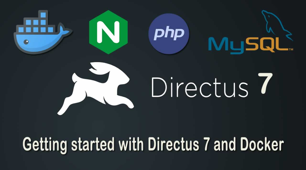Getting started with Directus 7 and Docker (PHP & MySQL & Nginx)
