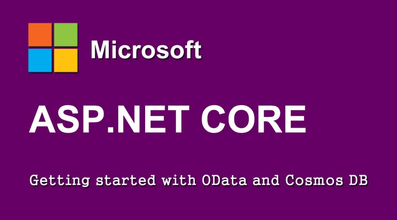 Getting started with OData and Cosmos DB in ASP.NET Core