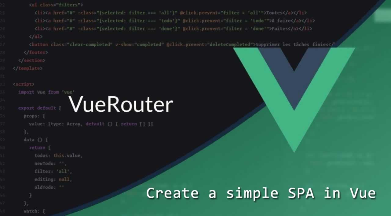 Getting Started with Vue Router - Create a simple SPA in Vue