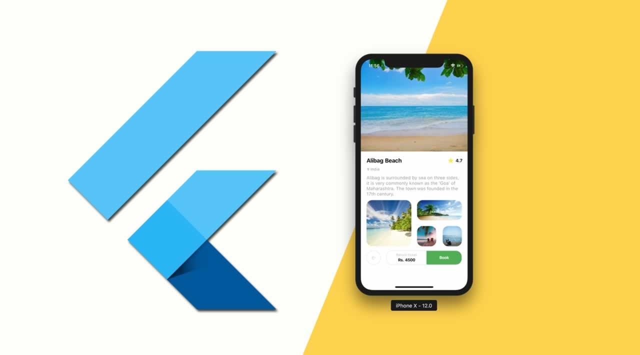 Flutter Travel UI Tutorial for Beginers