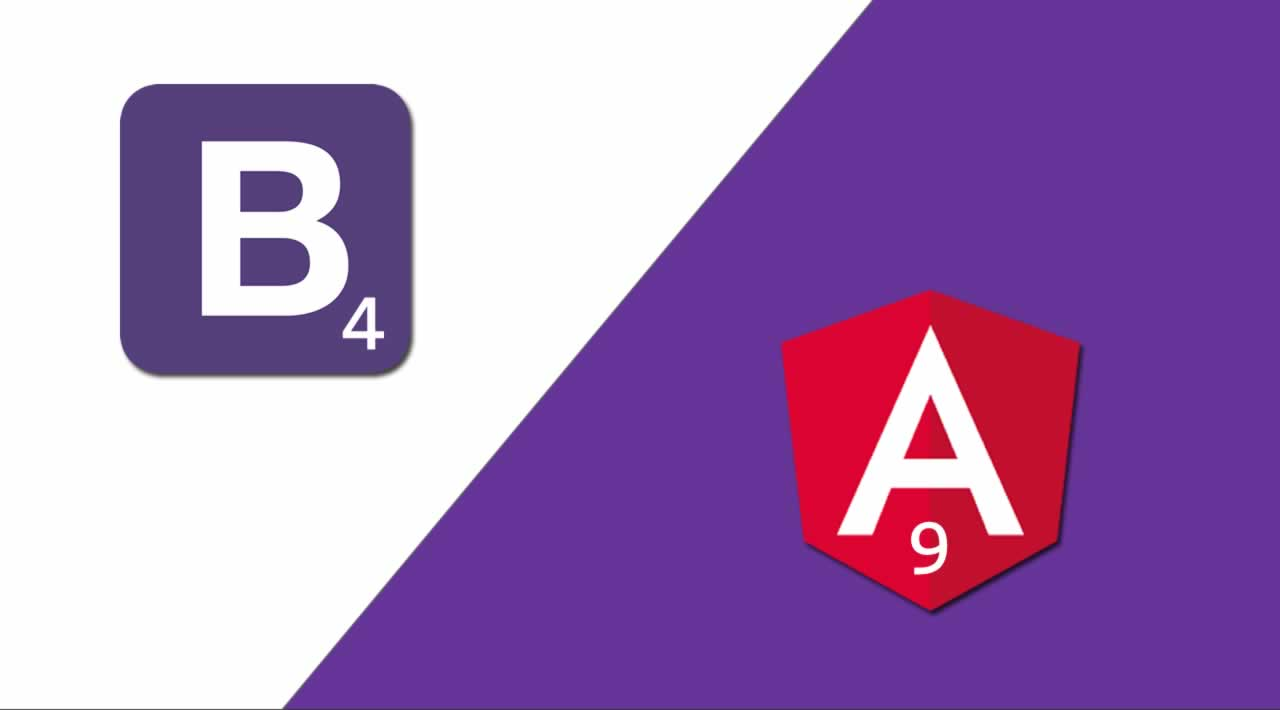 How to integrate Bootstrap 4 with Angular 9?