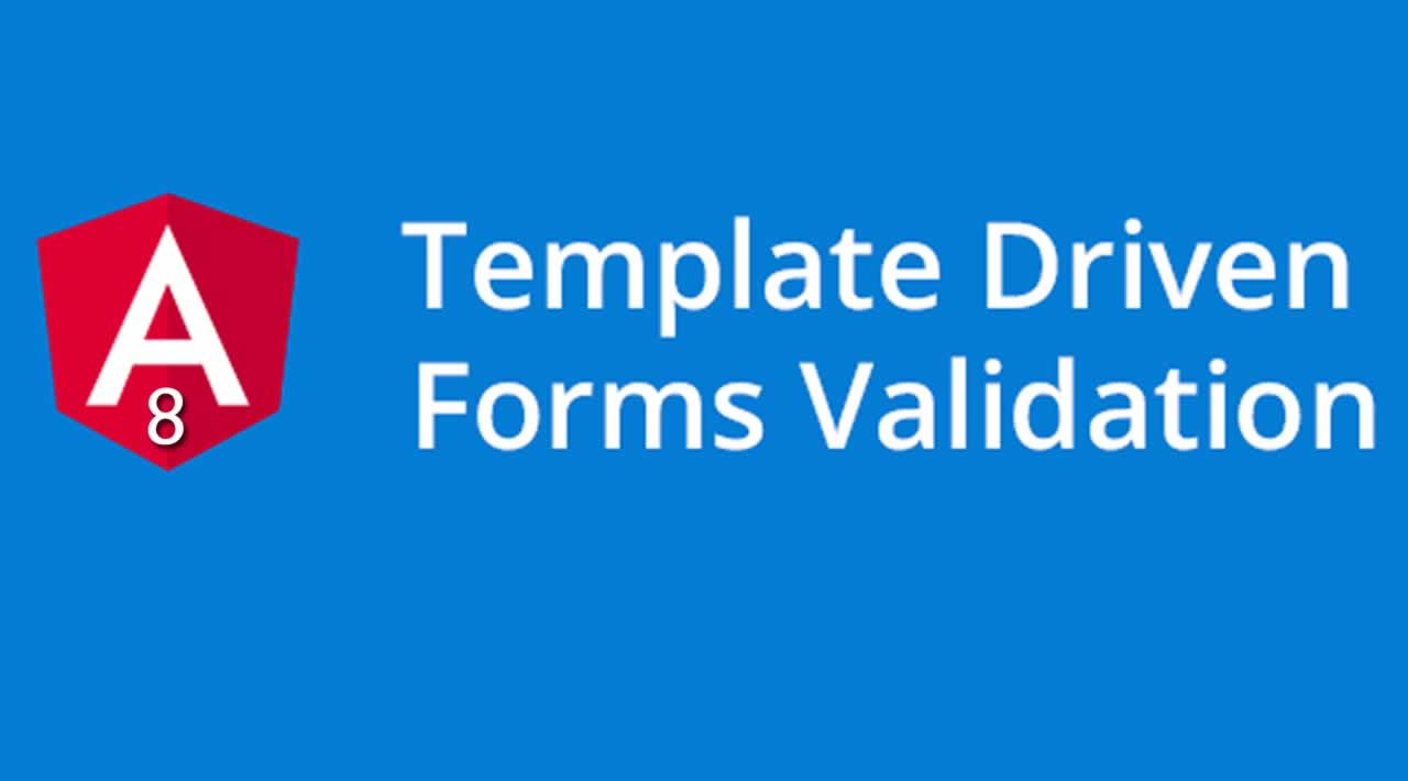 How to create Template Driven Form Validation in Angular 8?