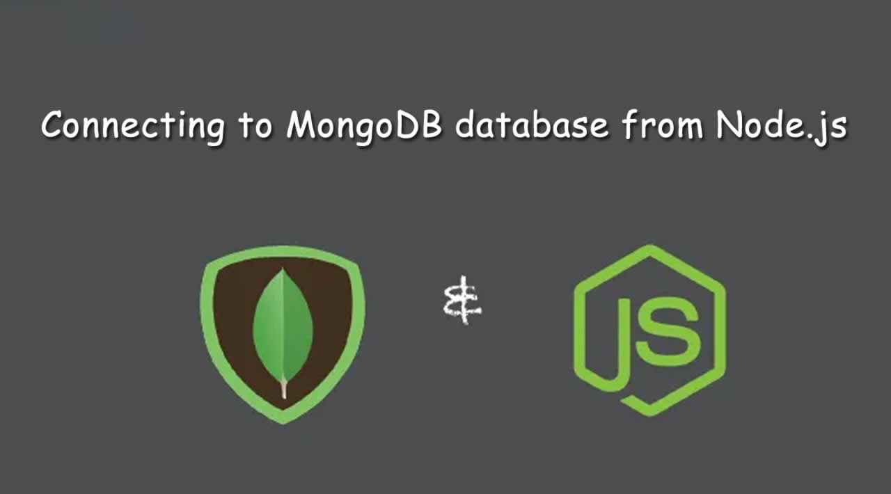 How to connect to MongoDB database from Node.js?