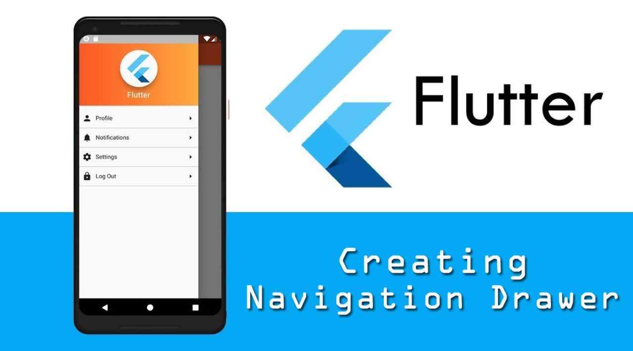Flutter Tutorial - Creating Navigation Drawer in Flutter
