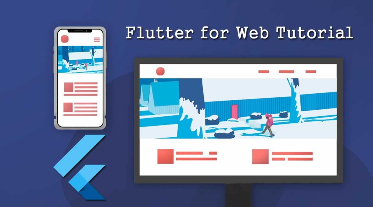 Flutter for Web Tutorial - Building a Responsive Website in Flutter