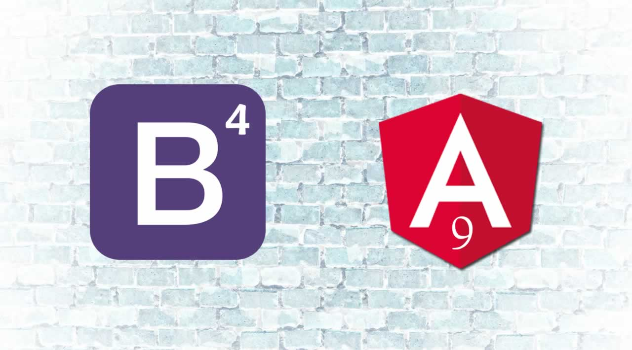 How to use Bootstrap 4 to style apps built using Angular 9