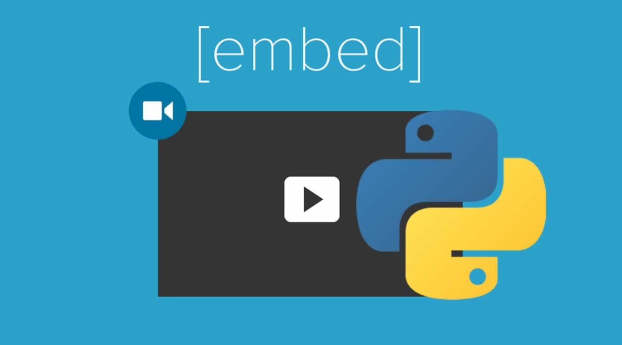 How to extracted an embedded video into your code Python