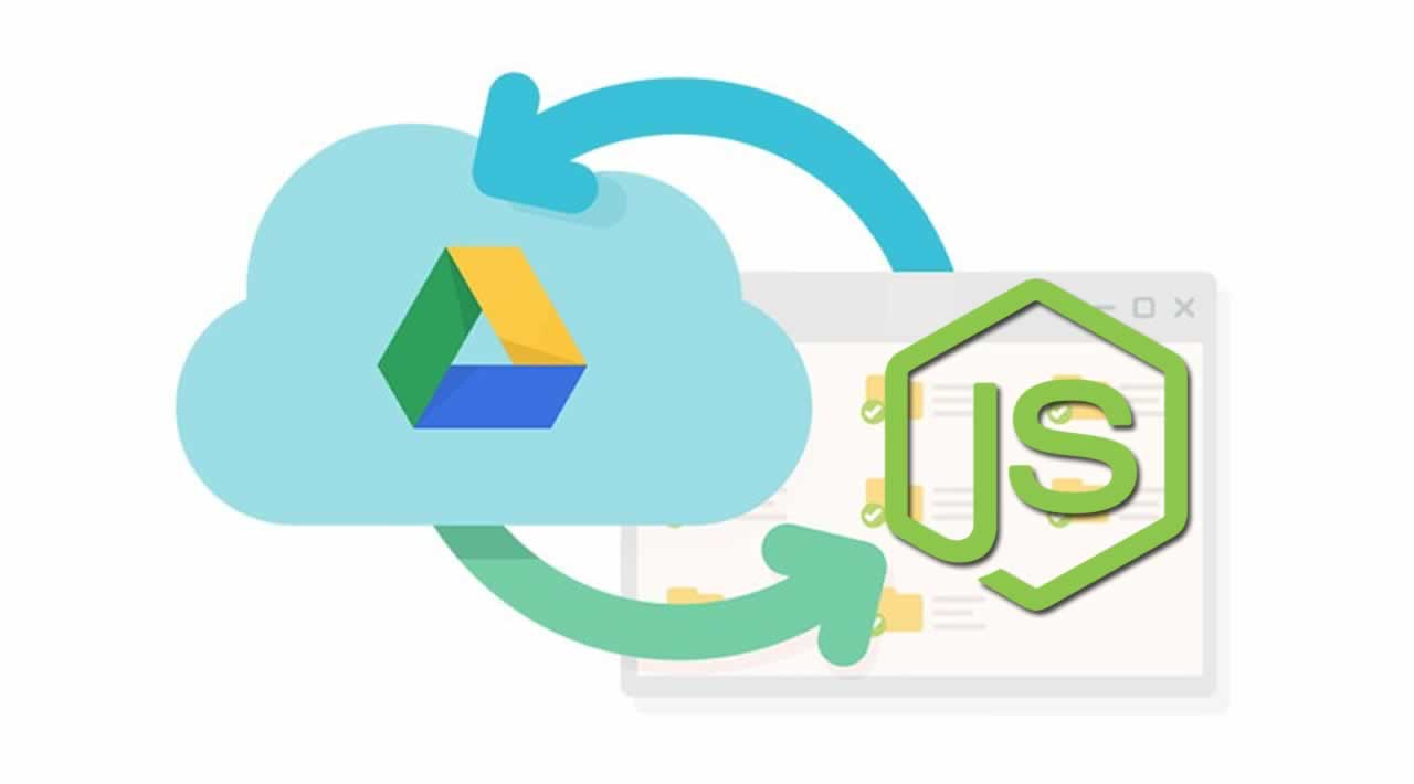 How to Build Node.js app that uploads data to Google Drive