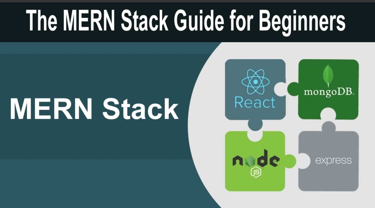 React, NodeJS, Express & MongoDB -  The MERN Stack Guide for Beginners