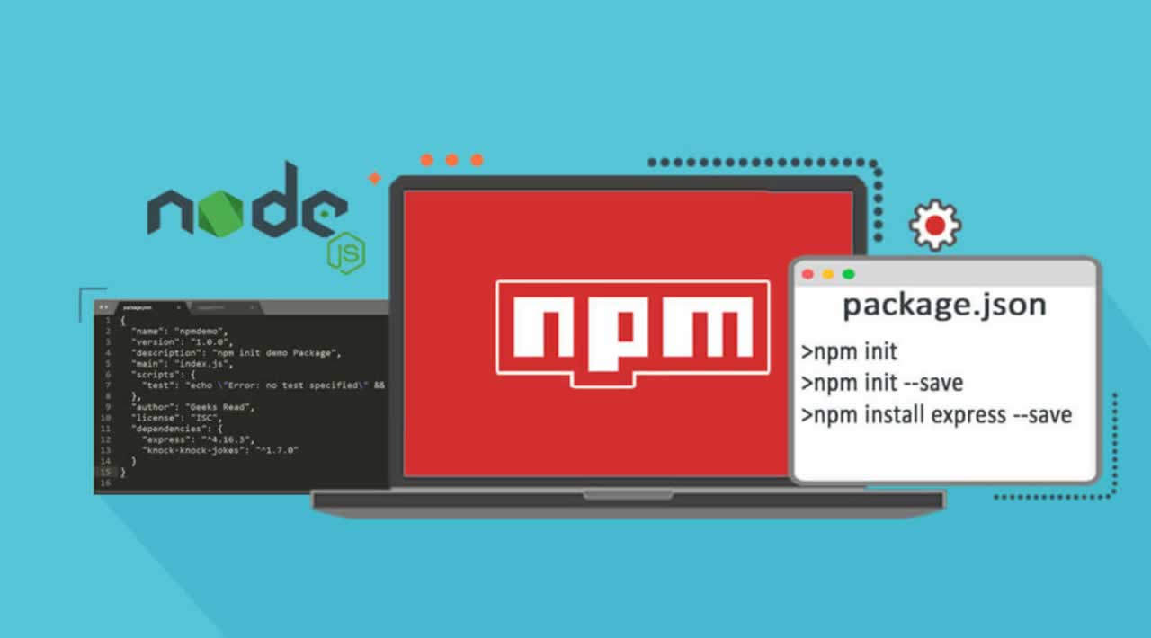 How to Use Node.js Modules with npm and package.json?