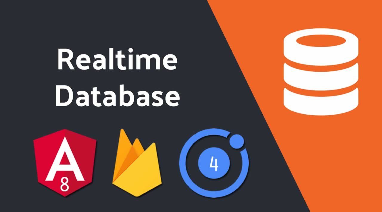 How to set up Firebase Realtime Database in Ionic 4 and Angular 8 App?