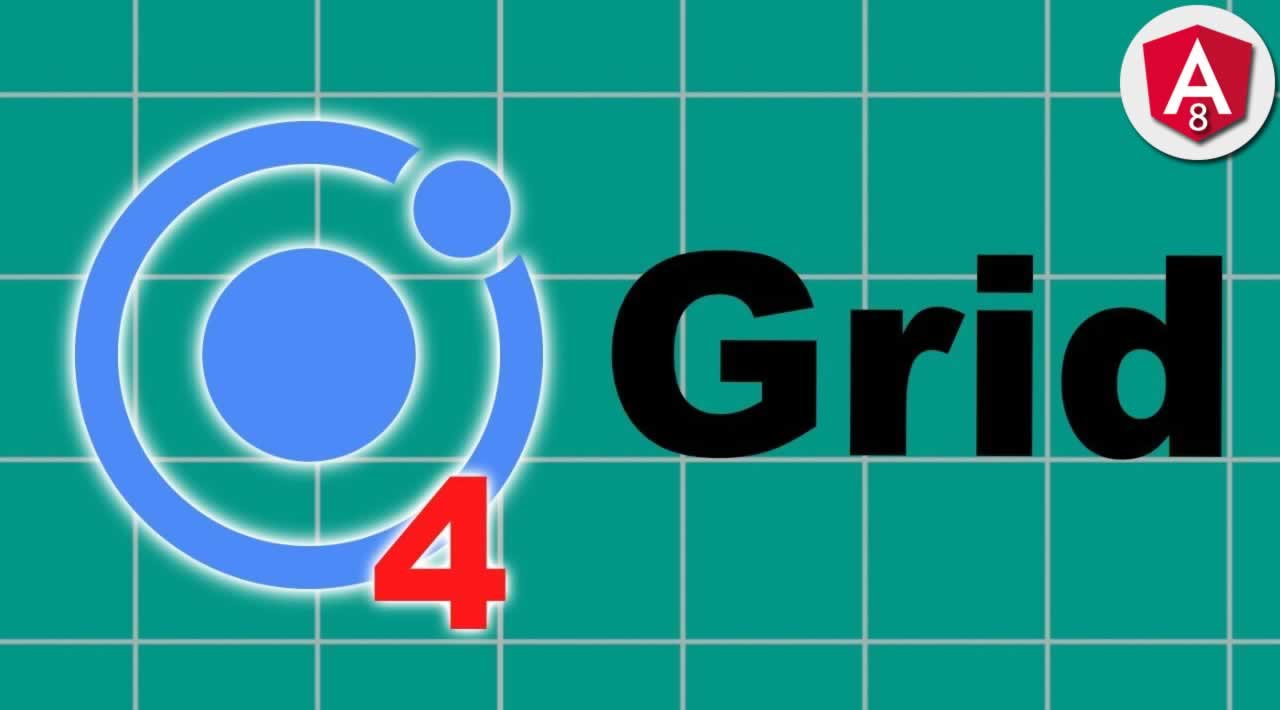 Ionic 4 Responsive Grid Tutorial with Examples