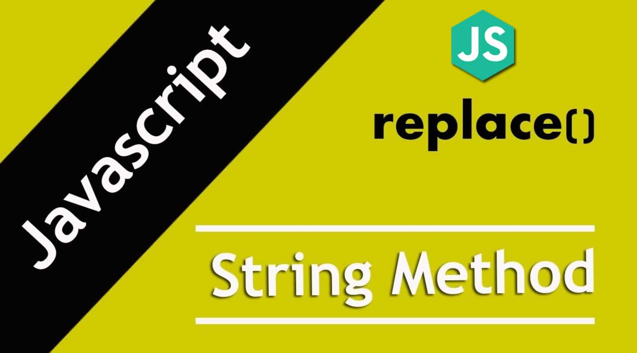 Understanding JavaScript String replace() method