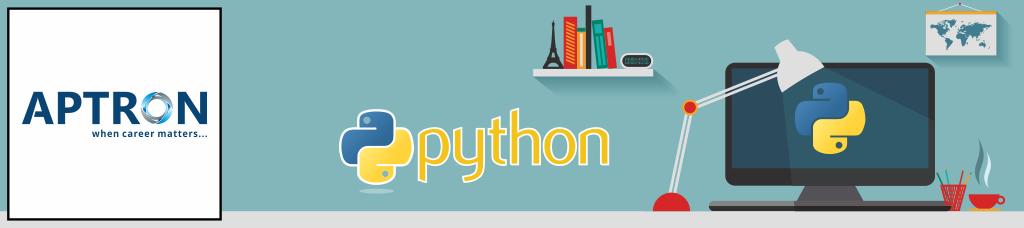 Learn Python Course in Gurgaon - APTRON Gurgaon