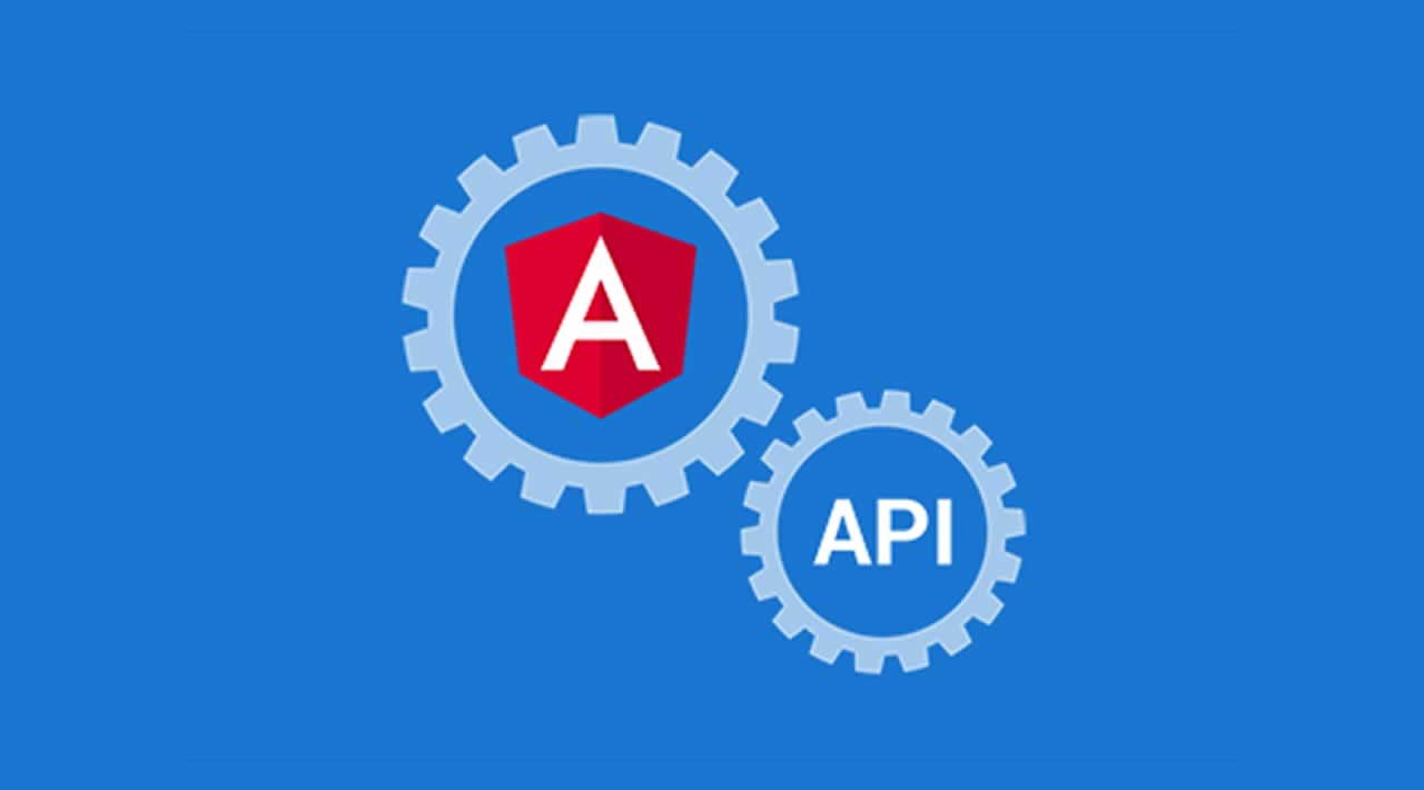 How to build application in Angular with API