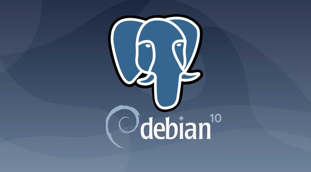 How to Install PostgreSQL database server on Debian 10