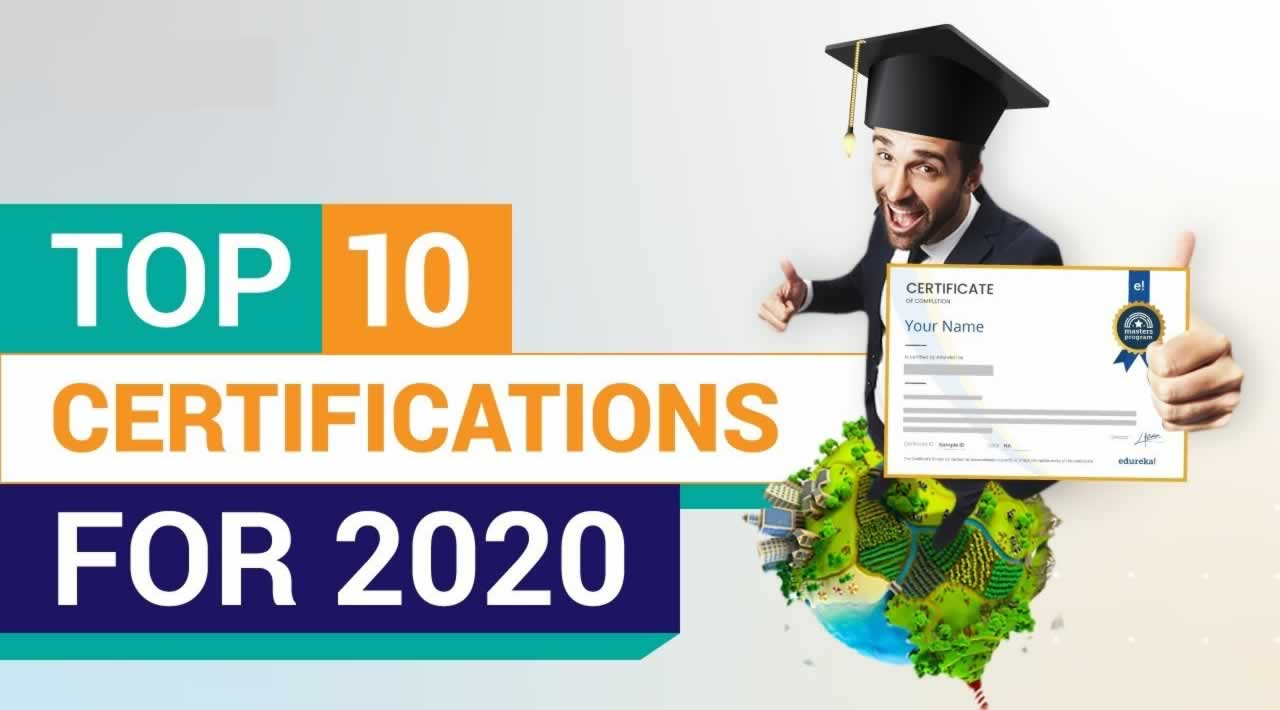 Top 10 High Paying IT Certifications in 2020