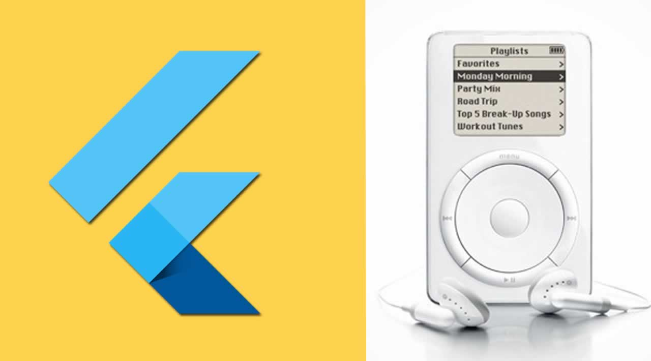 Build the classic iPod user interface with Flutter