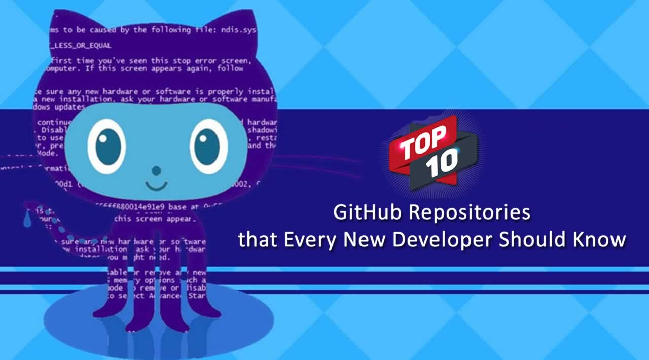 10 GitHub Repositories that Every New Developer Should Know