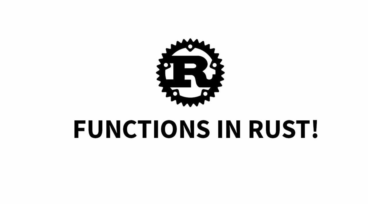 The Rust Programming Language - Understanding Functions in Rust
