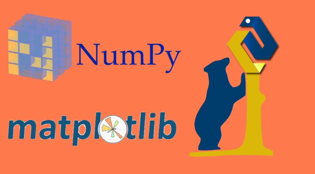 Introduction to NumPy, Pandas and Matplotlib in libraries  Python