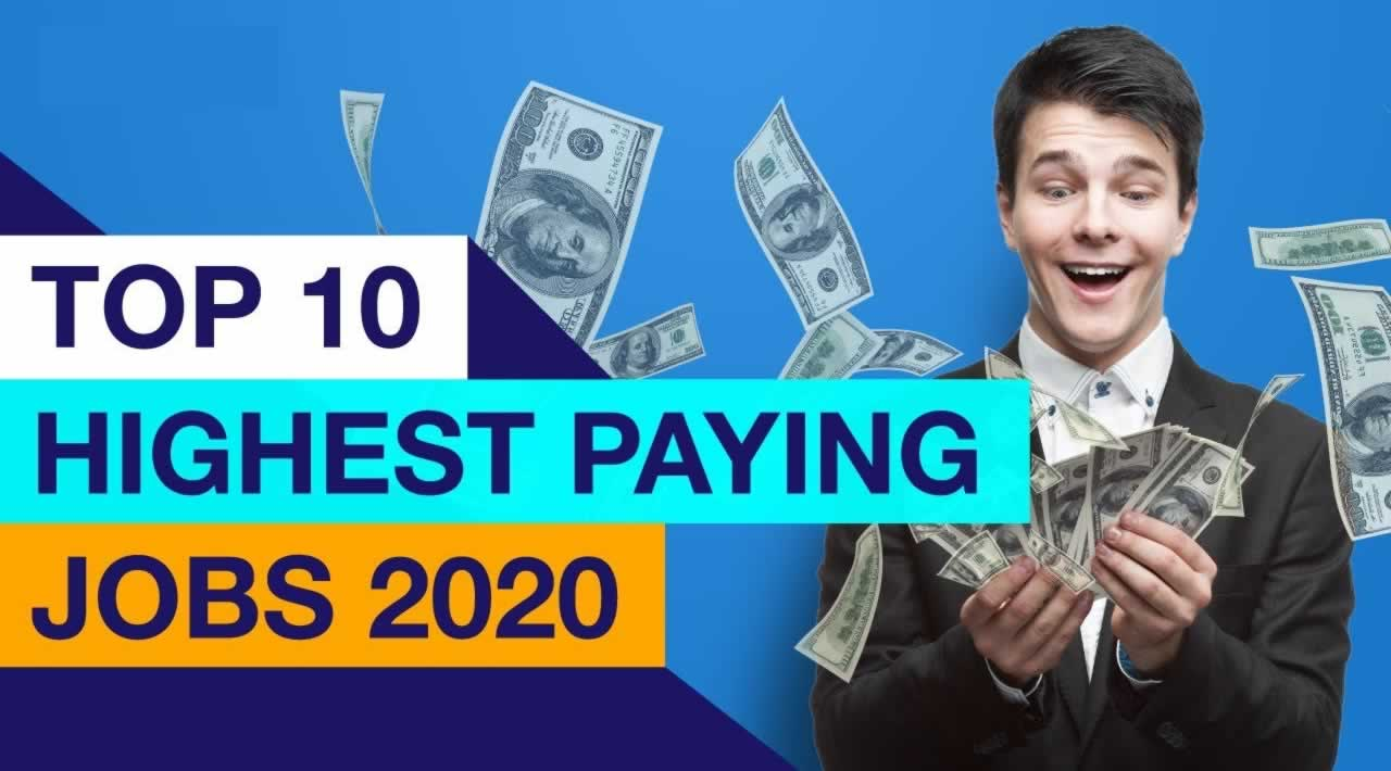 The Top 10 High-Paying IT Jobs in 2020
