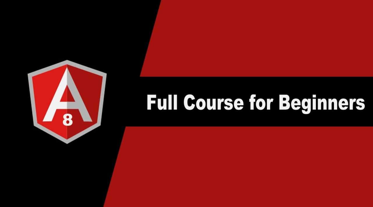 Angular 8 : Full Course for Beginners