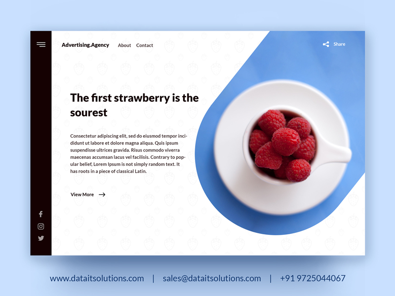 Advertising Agency Website | Ad Agency Website Design