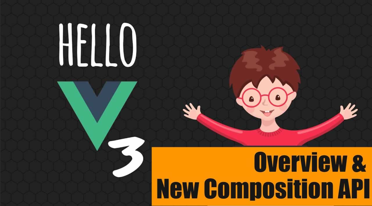 Hello Vue 3: A First Look at Vue 3 and the Composition API