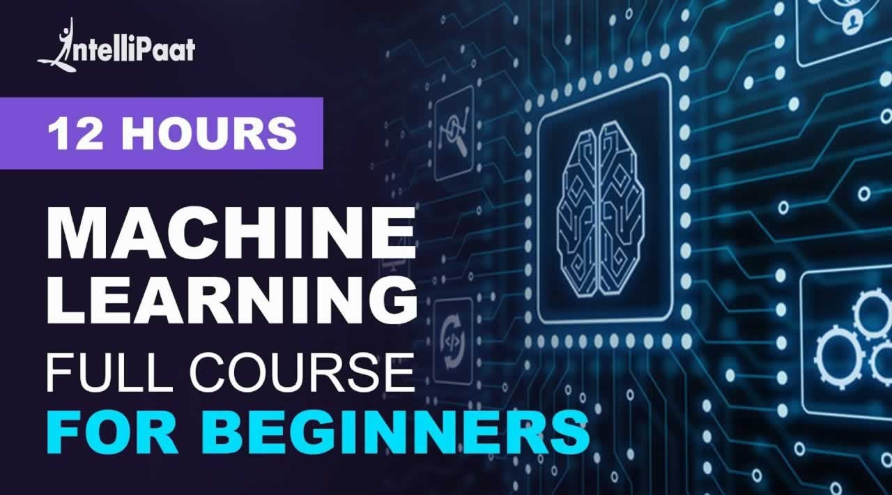 Machine Learning Tutorial - Machine Learning Full Course For Beginners