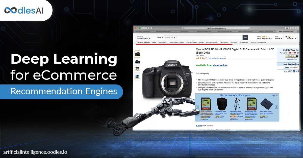 How eCommerce can harness Deep Learning for Recommendation Systems