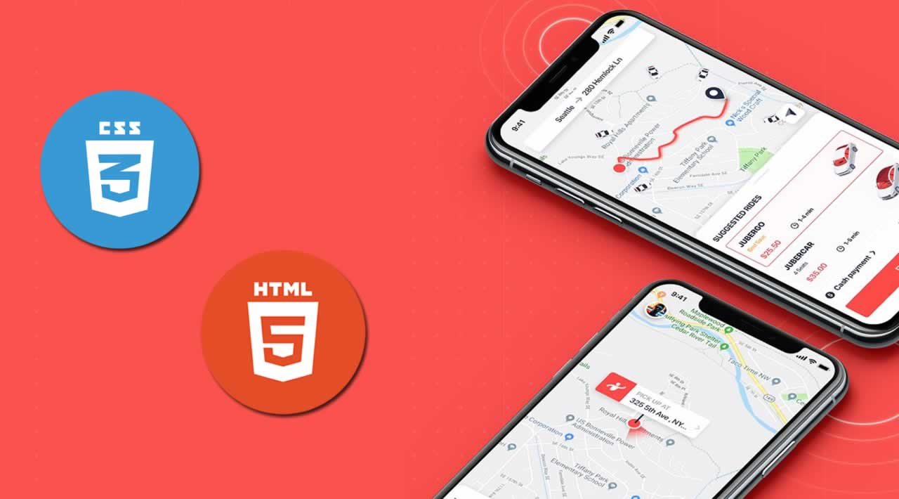 How to Use HTML & CSS to build a Mobile UI Layout