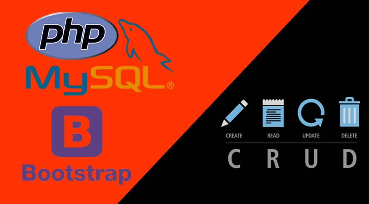 How to create CRUD Operation using PHP, MySQL and Bootstrap