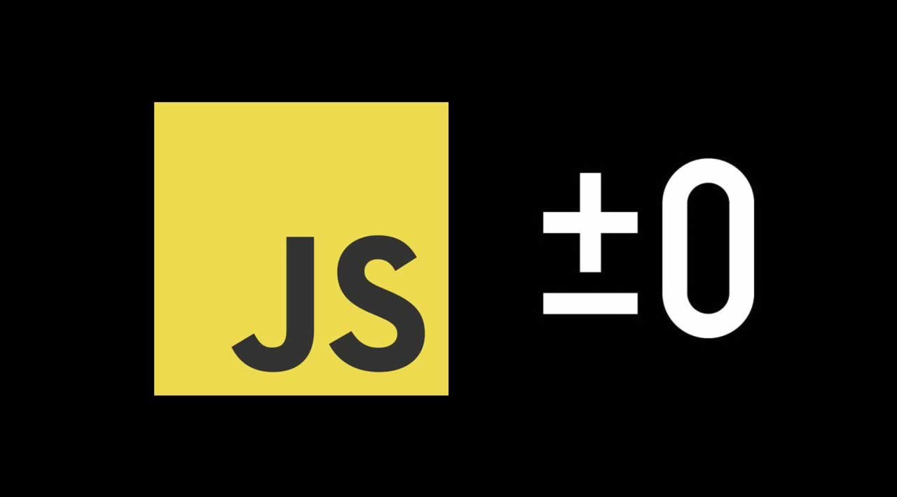 Why JavaScript has two zeros: -0 and +0