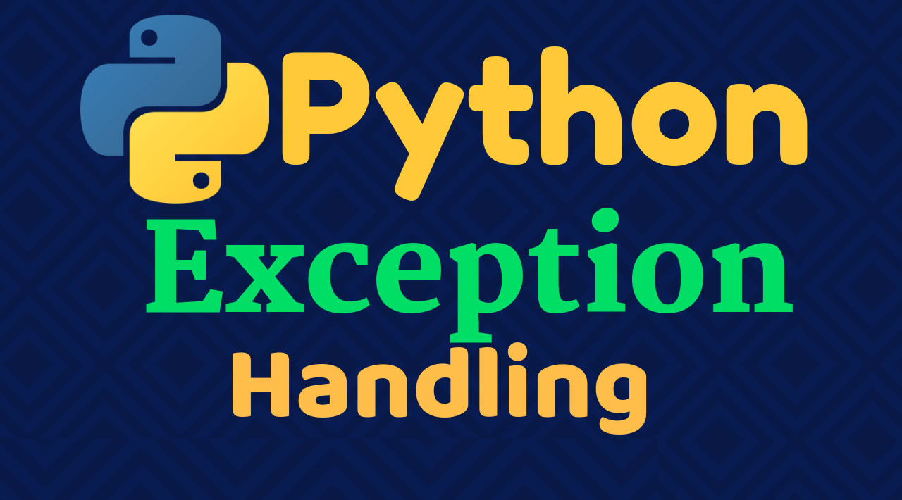 Learn how to handle exceptions in Python