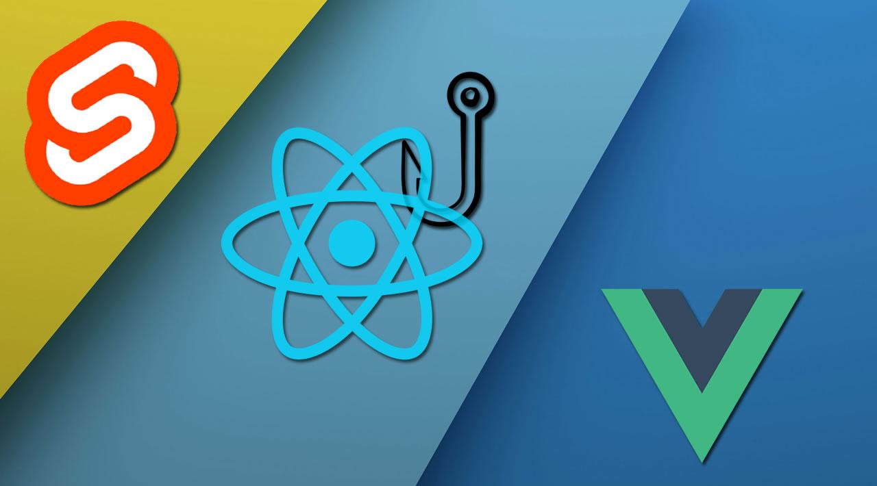 React Hooks vs. Vue.js vs. Svelte 3: State of Components