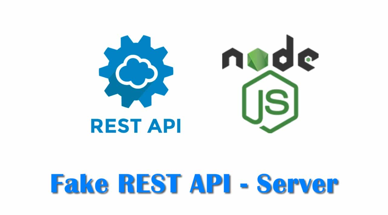 How to Create a Fake REST API Server using Node.js