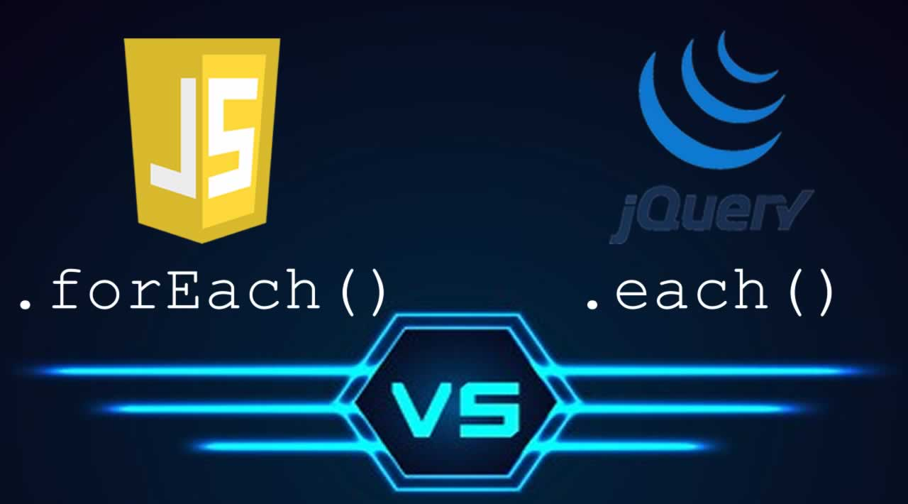 Understand and Use JavaScript's .forEach() vs. jQuery's .each()