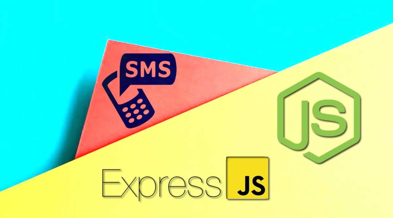Send & Recieve SMS messages with Node.js and Express.js