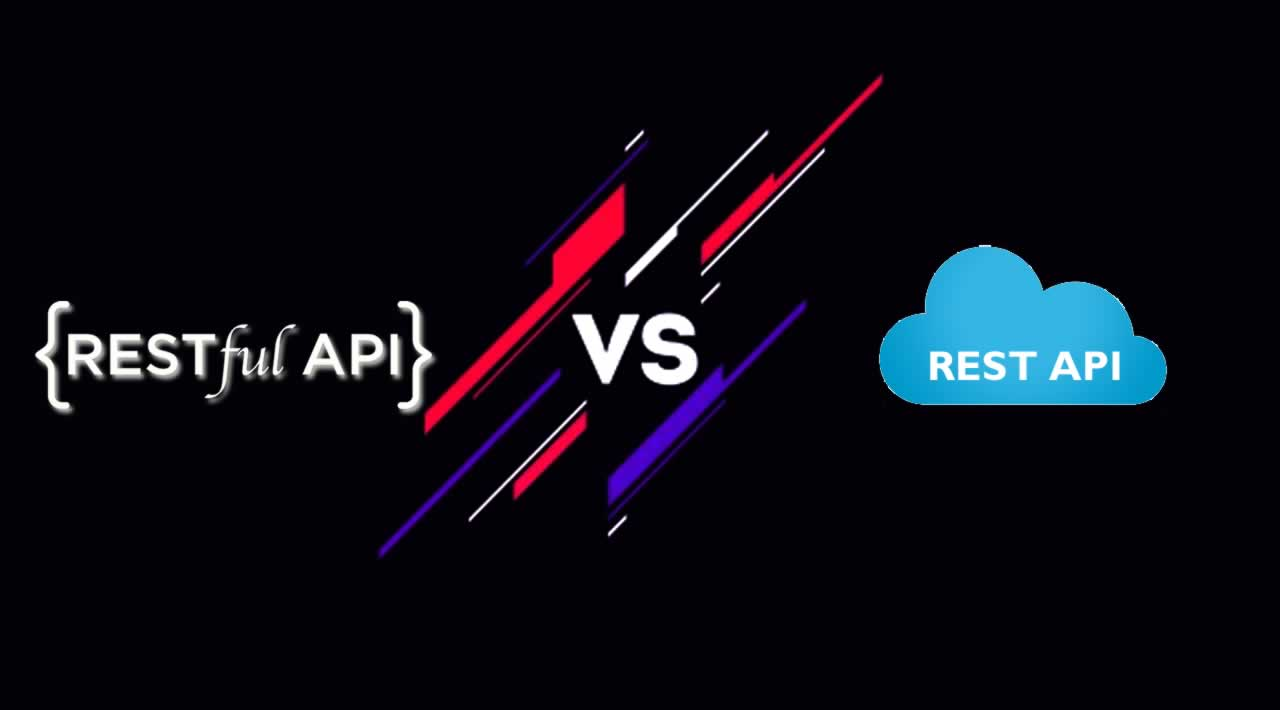 What the difference between REST API and RESTful API?