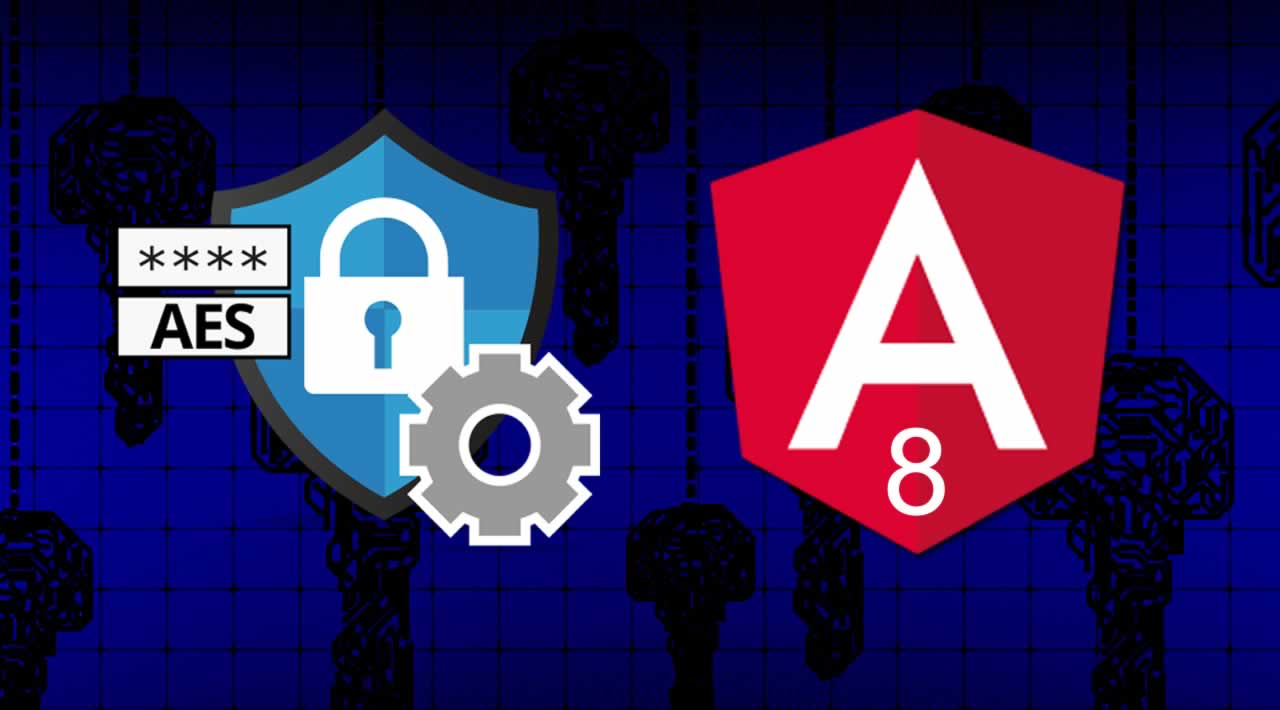 How to Implement AES Encrypt and Decrypt Data in Angular 8