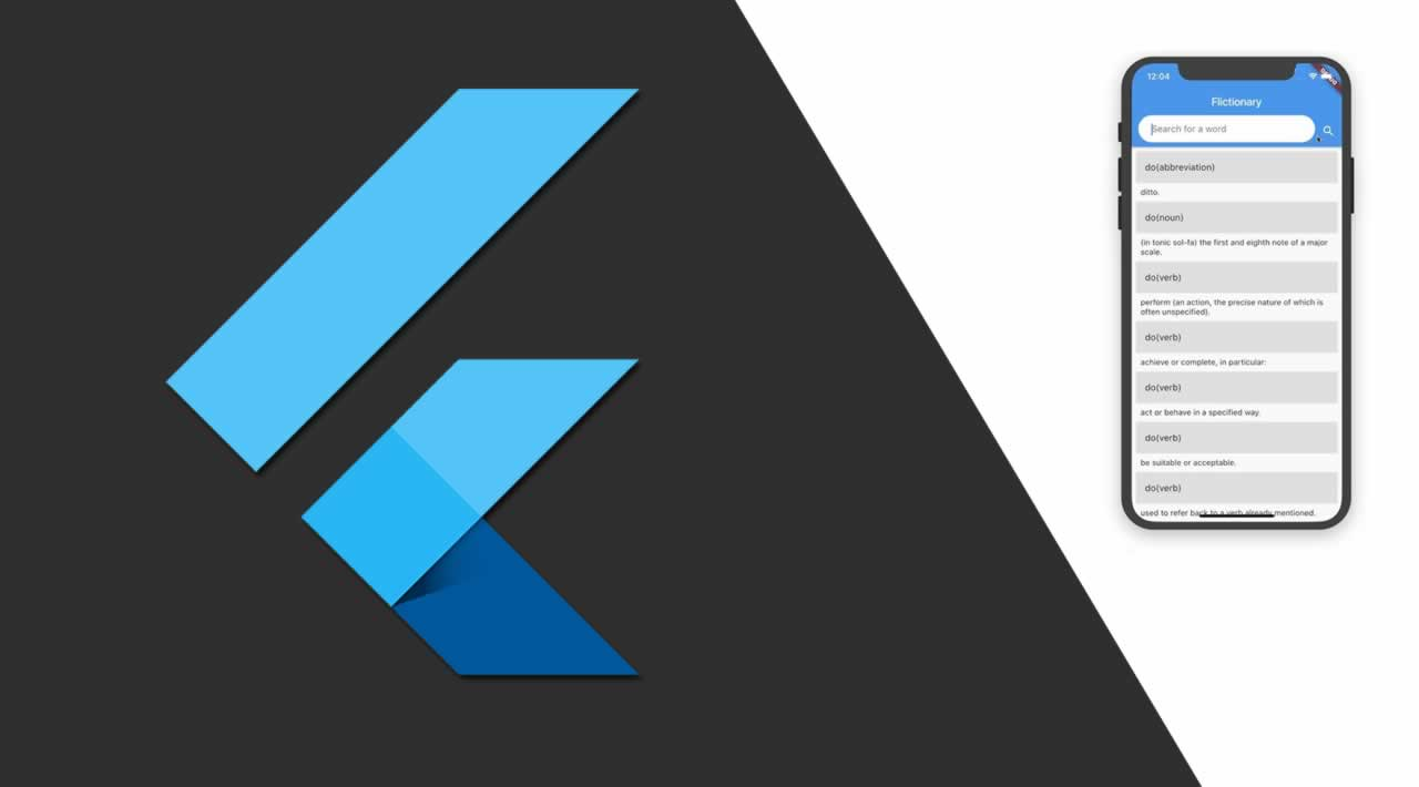 Building dictionary application in Flutter with StreamBuilder