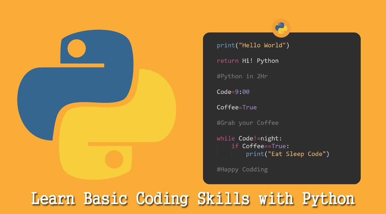 Python Fundamentals - Learn Basic Coding Skills with Python