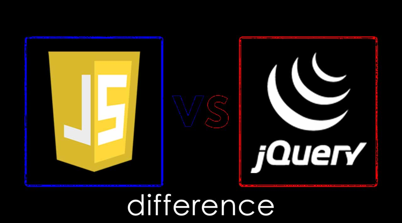 What the difference between JavaScript vs jQuery