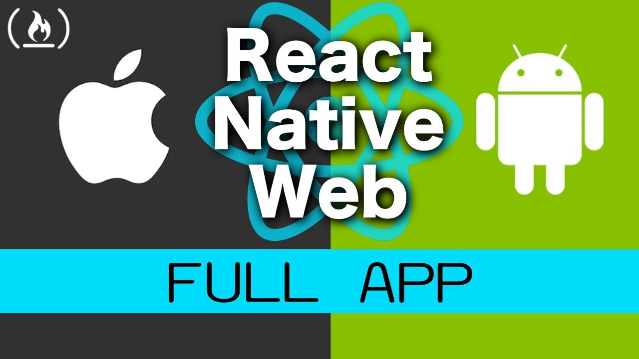 React Native Web Full App Tutorial - Build a Workout App for iOS, Android, and Web