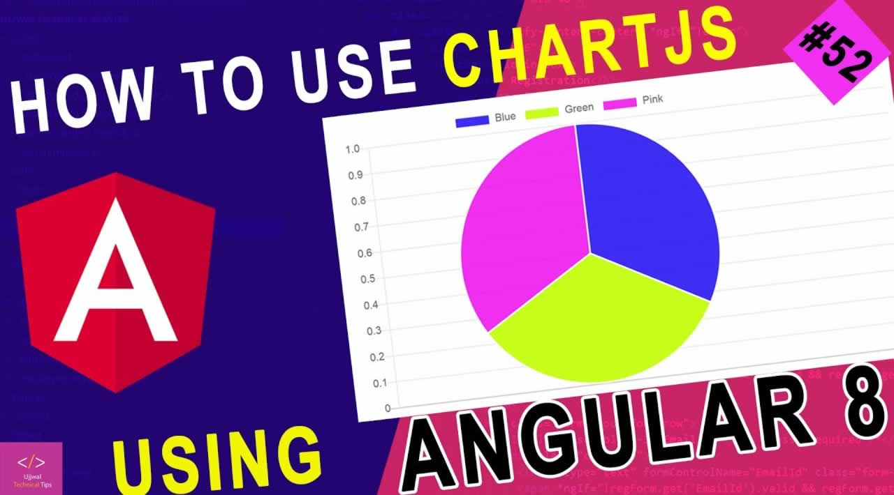 How to use chartjs in angular 8