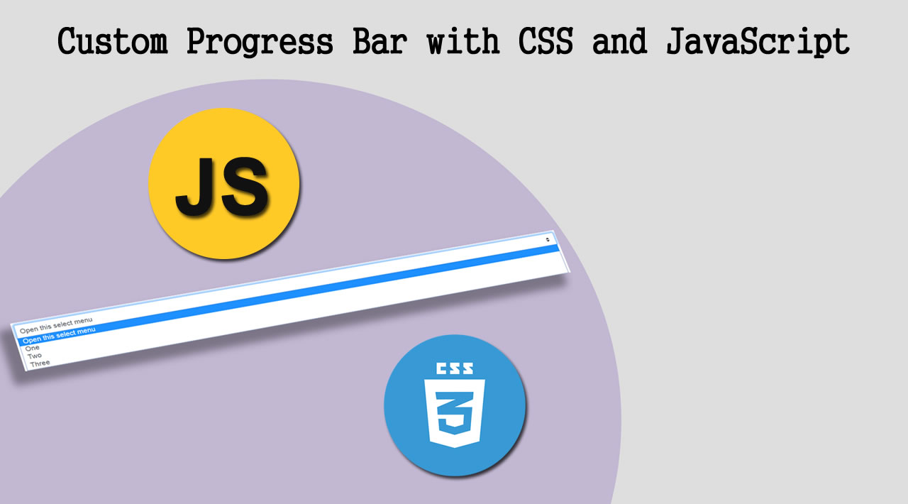 Build a Custom Progress Bar using Vanilla CSS and JavaScript
