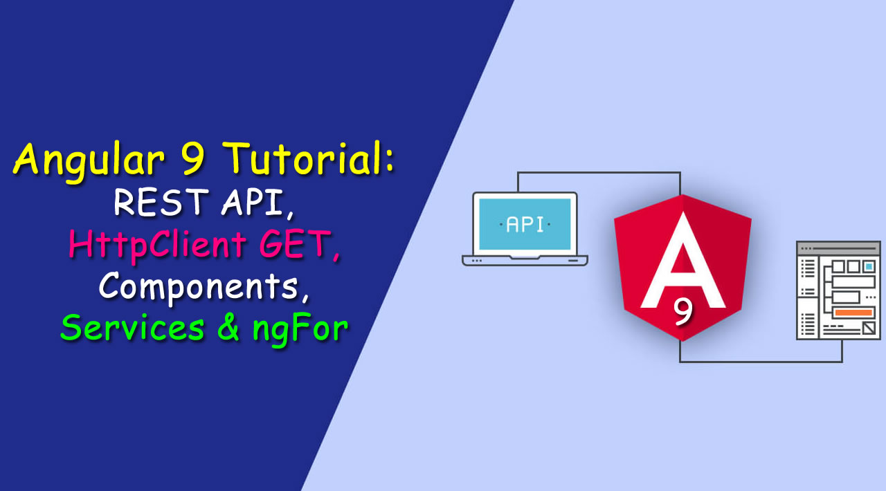 How to send GET Requests to REST API Servers in Angular 9 using HttpClient