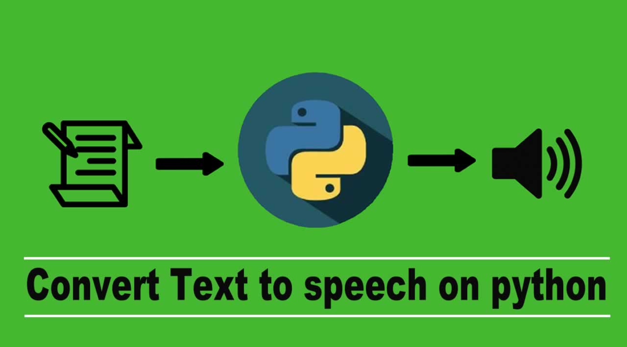 How to convert Text to speech on python using Gtts library